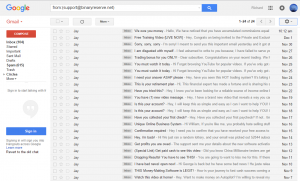 Binary Options Daily Email Spam