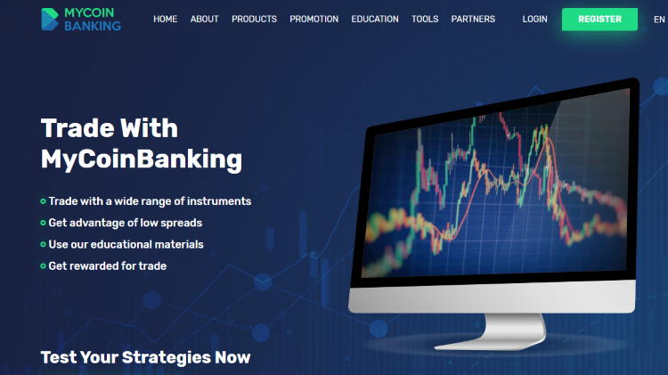 MyCoinBanking Crypto Trading Brokers